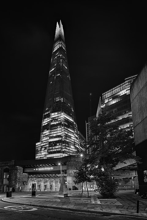 Photograph of Shard Vertical 3