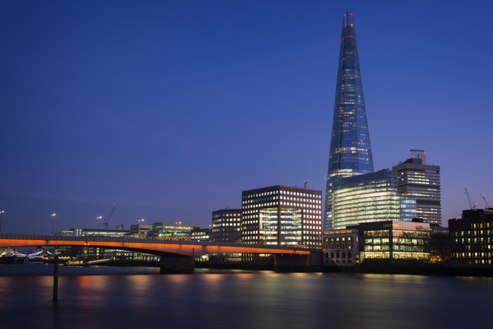 Photograph of Shard and London Bridge 1