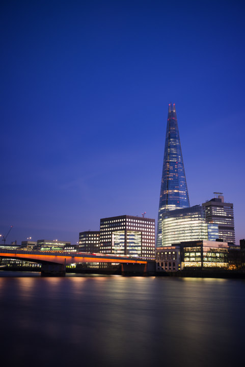 Photograph of Shard and London Bridge 2