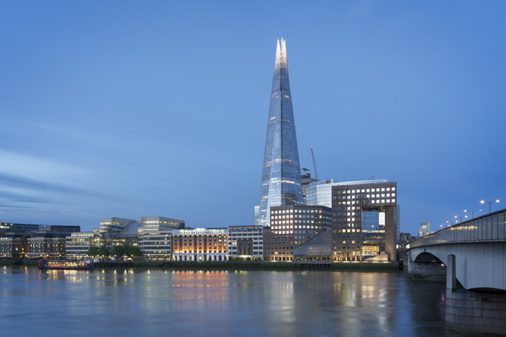 Photograph of Shard and London Bridge 4