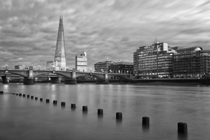 Photograph of Shard and Southwark Bridge 11