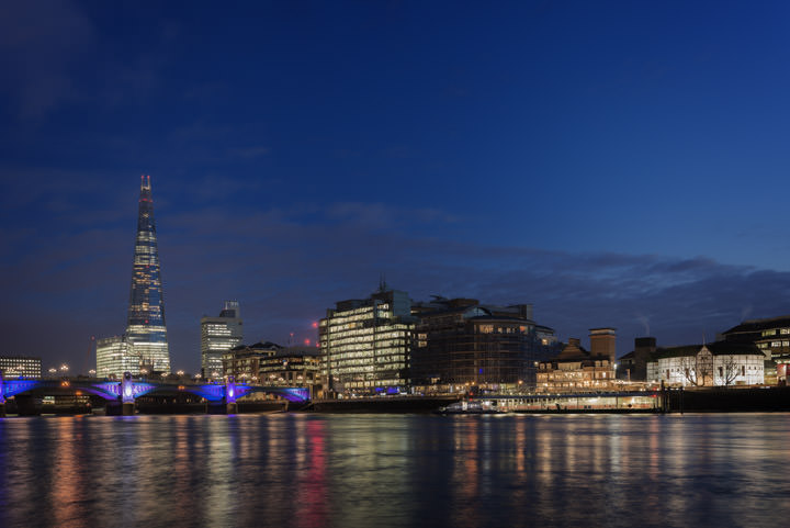 Photograph of Shard and Southwark Bridge 14