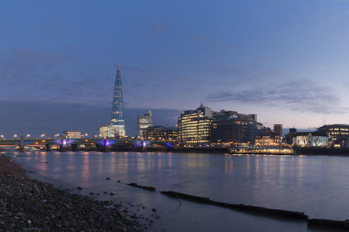 Photograph of Shard and Southwark Bridge 17