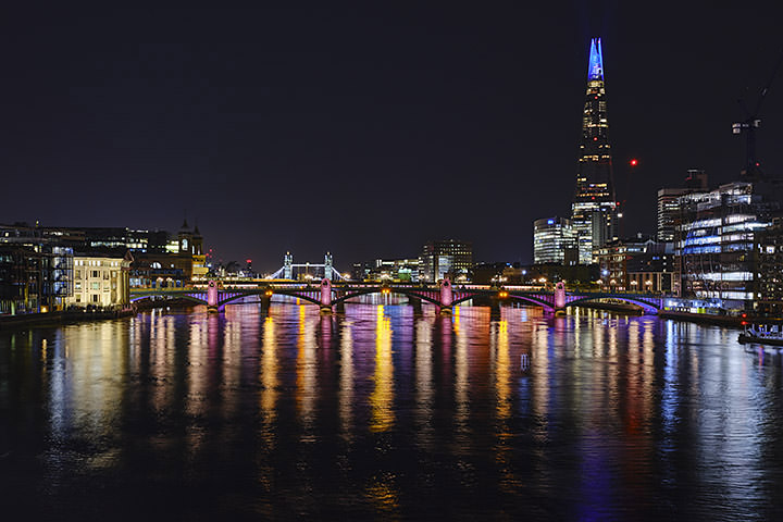 Photograph of Shard and Southwark Bridge 18