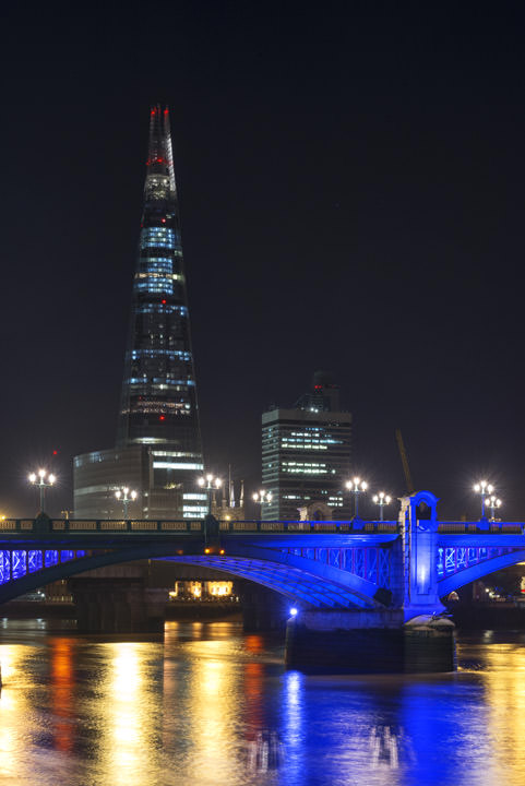 Photograph of Shard and Southwark Bridge 2
