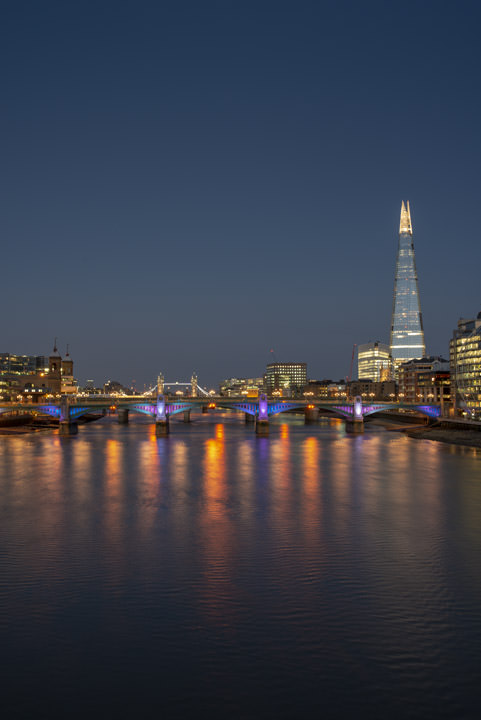 Photograph of Shard and Southwark Bridge 3
