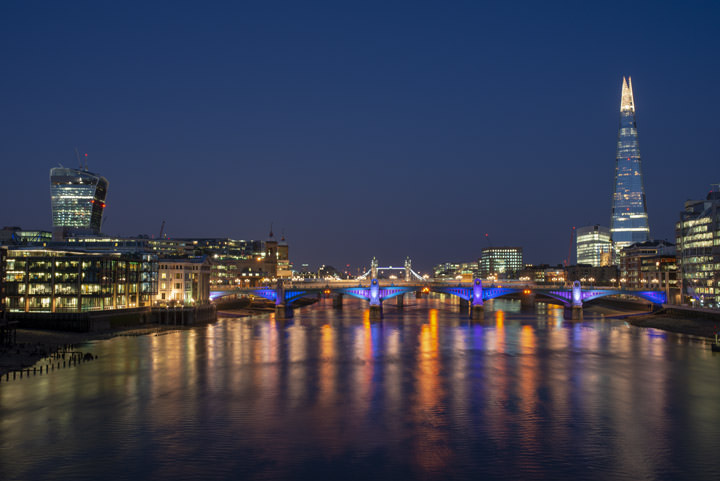 Photograph of Shard and Southwark Bridge 4