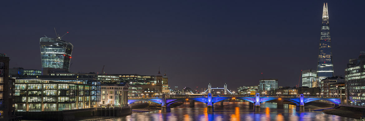 Photograph of Shard and Southwark Bridge 5