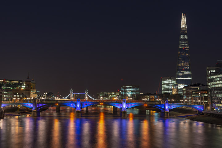 Photograph of Shard and Southwark Bridge 6