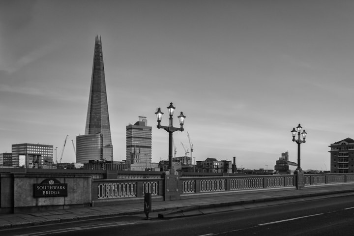 Photograph of Shard and Southwark Bridge 8