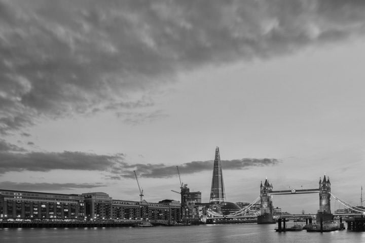 Photograph of Shard and Tower Bridge 1