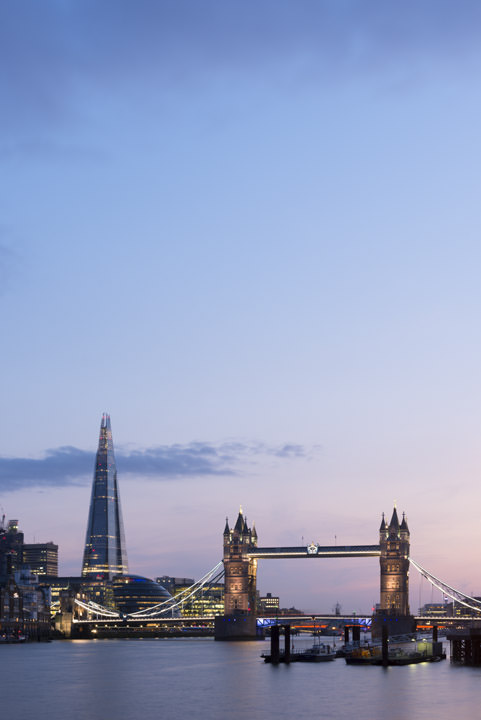 Photograph of Shard and Tower Bridge 2