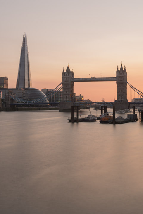 Photograph of Shard and Tower Bridge 3