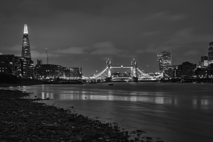 Photograph of Shard and Tower Bridge 4