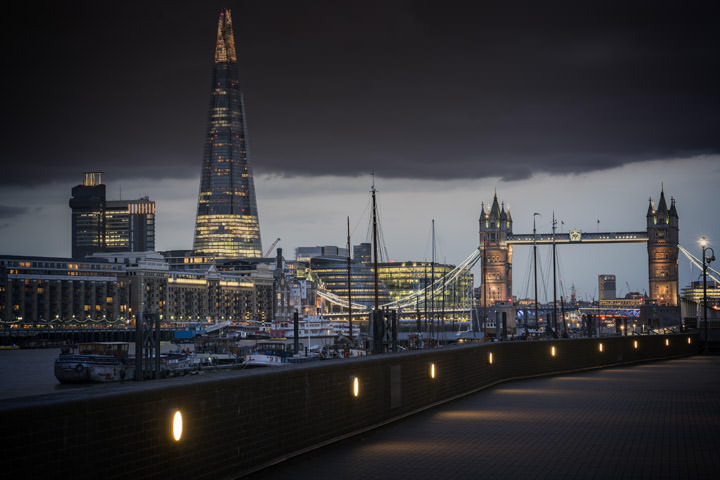 Shard and Tower Bridge 7