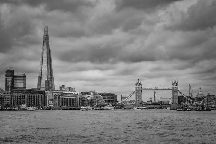 Photograph of Shard and Tower Bridge 8