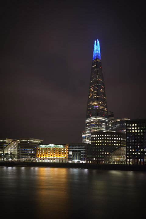 Photograph of Shard at Night 1