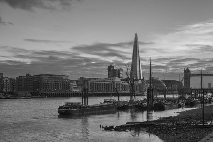 Photograph of Shard from Wapping 1