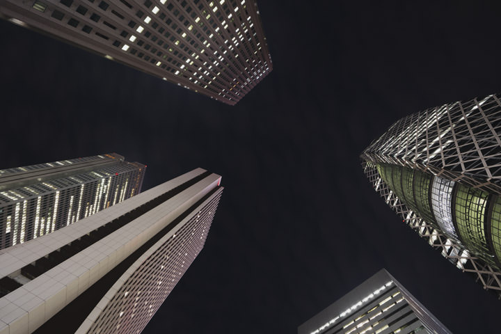 Photograph of Shinjuku Skyscrapers 1