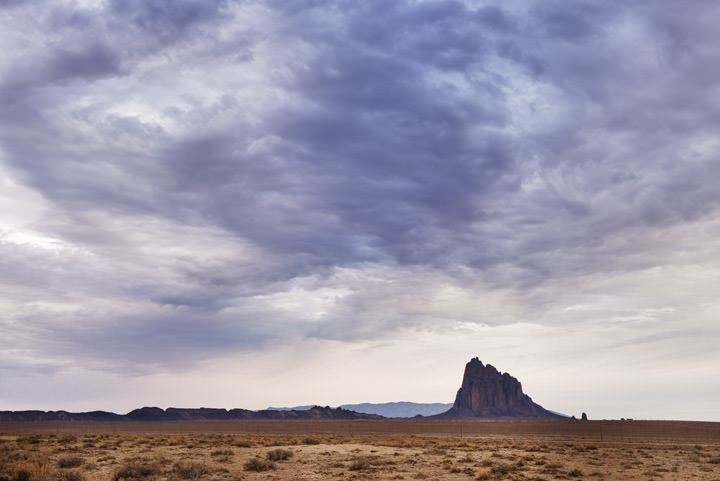 Photograph of Shiprock New Mexico