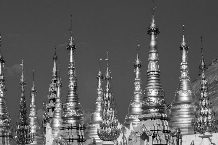 Photograph of Shwedagon Pagoda 1