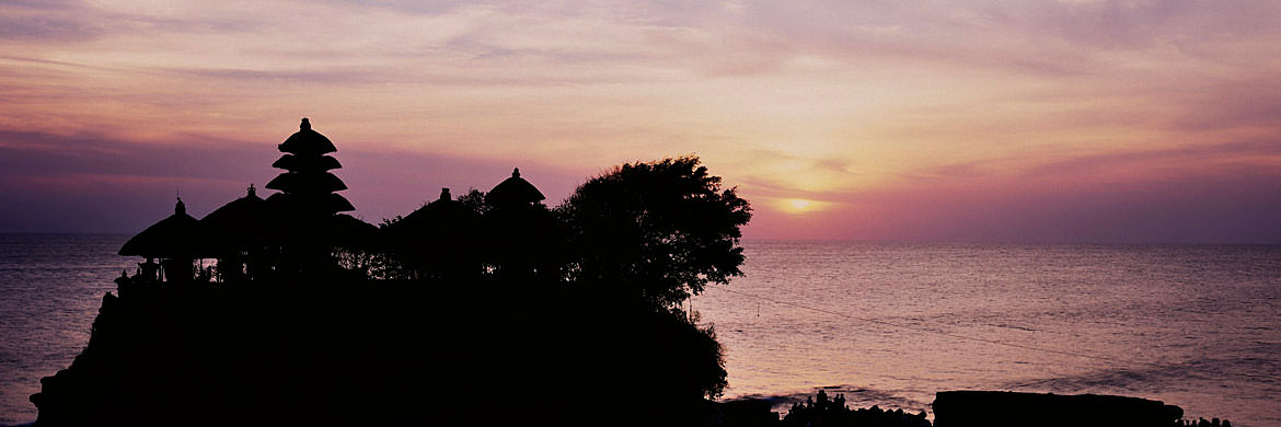 Silhouette Tanah Lot - Indonesia