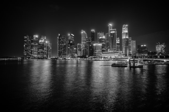 Photograph of Singapore Cityscape 1