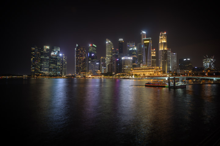 Photograph of Singapore Cityscape 2