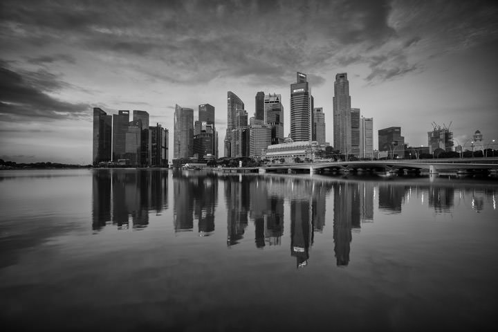 Photograph of Singapore Cityscape 3