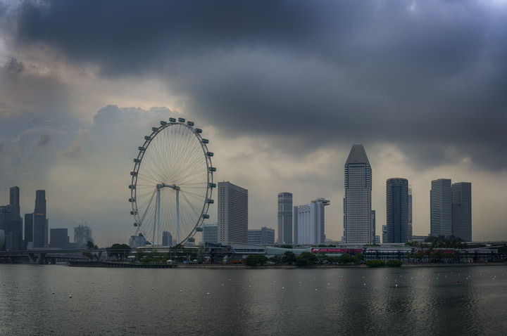Photograph of Singapore Cityscape 4