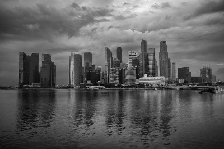 Photograph of Singapore Cityscape 5