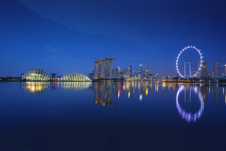 Photograph of Singapore Cityscape 6