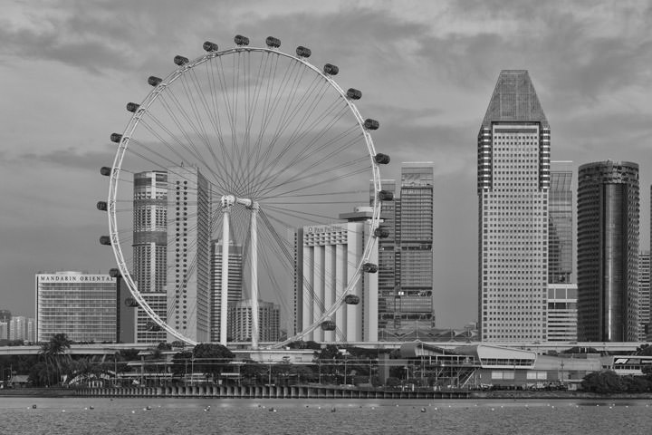Photograph of Singapore Flyer 1