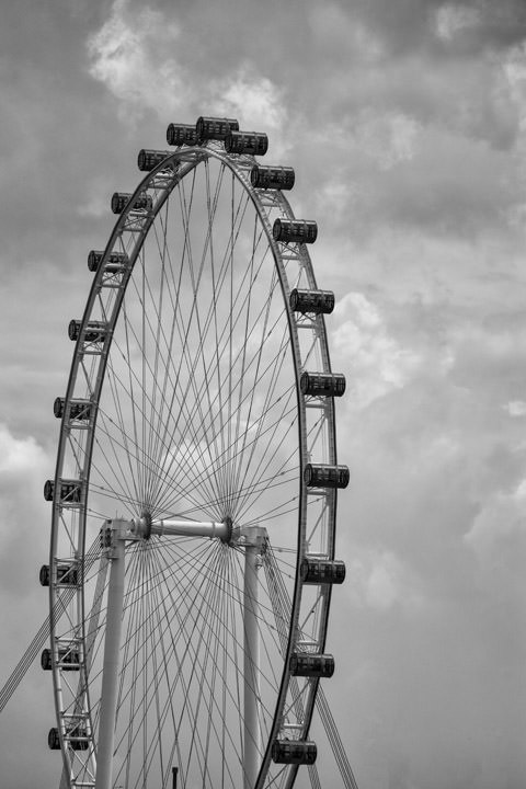 Photograph of Singapore Flyer 2