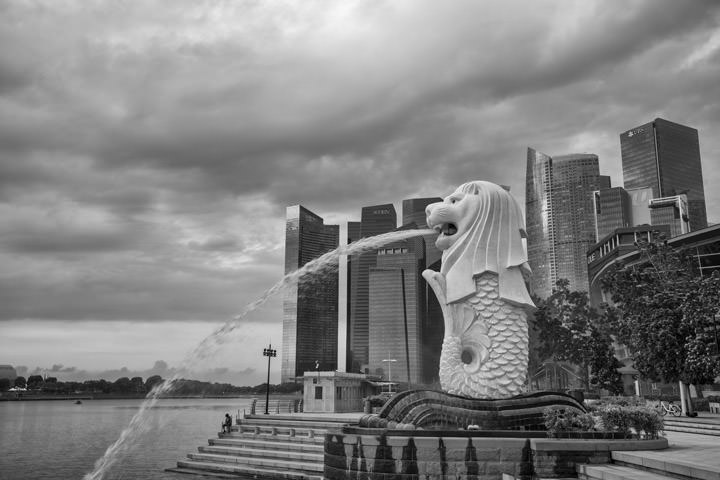 Photograph of Singapore Merlion 2