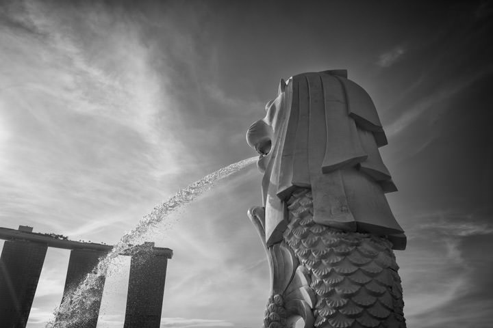 Photograph of Singapore Merlion 5