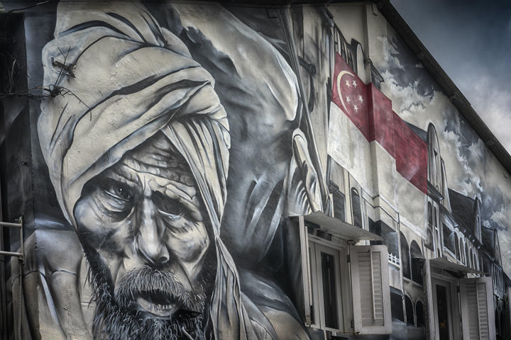 Photograph of Singapore Mural 1