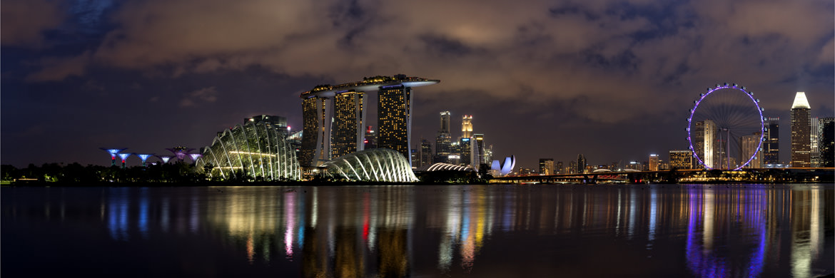 Photograph of Singapore Panorama 1