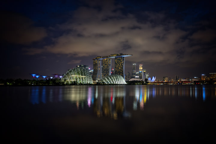 Photograph of Singapore Skyline 1