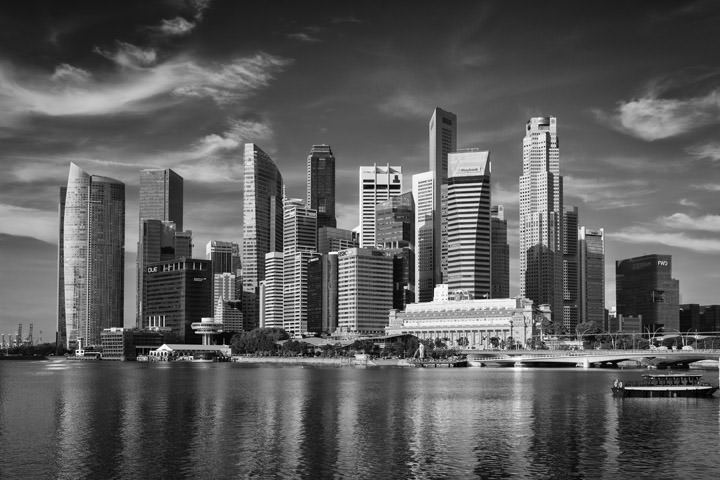 Photograph of Singapore Skyline 10