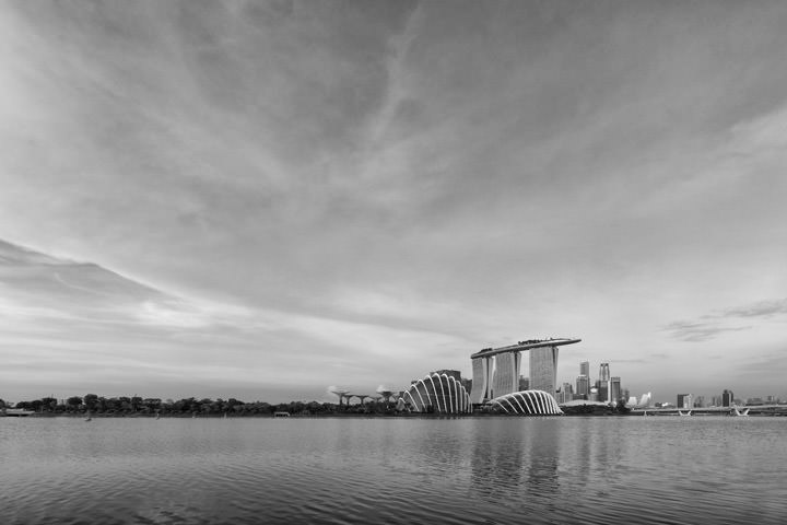 Photograph of Singapore Skyline 11