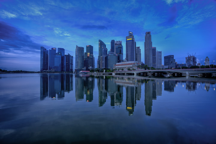 Photograph of Singapore Skyline 2