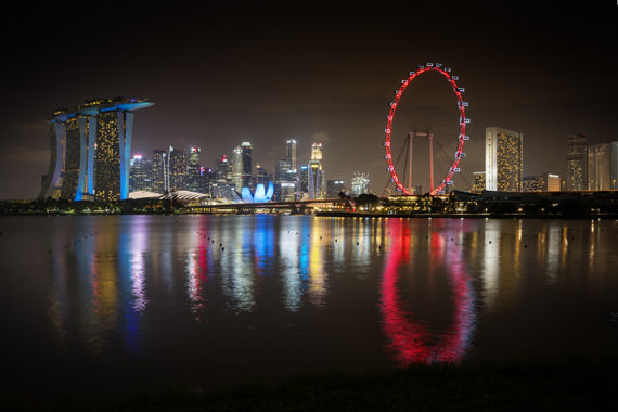 Photograph of Singapore Skyline 3