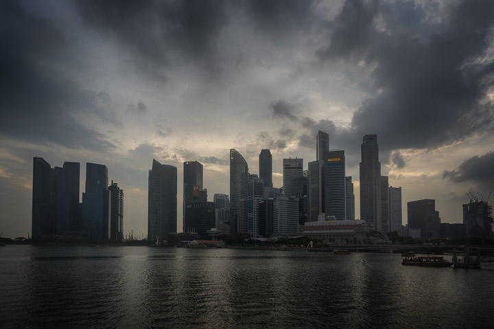 Photograph of Singapore Skyline 4