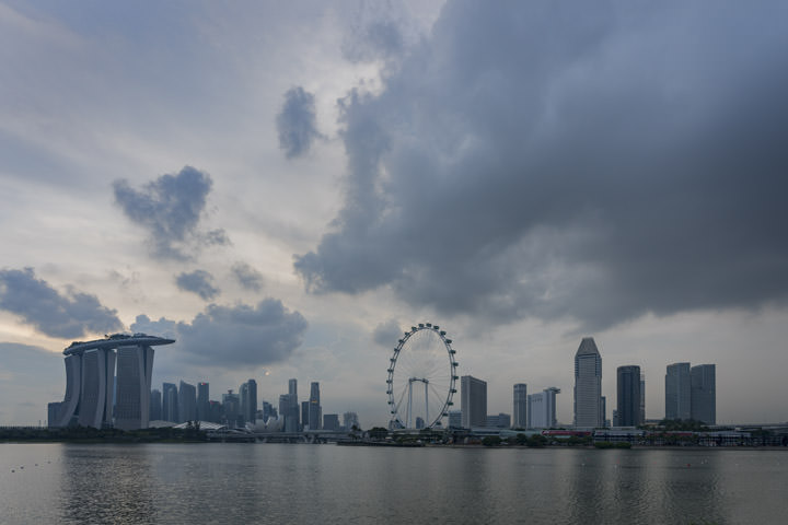 Photograph of Singapore Skyline 5