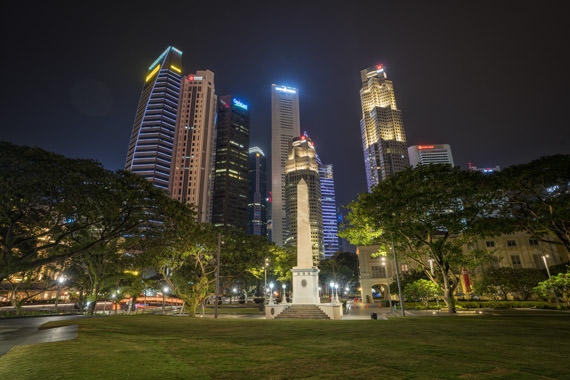 Photograph of Singapore Skyline 7