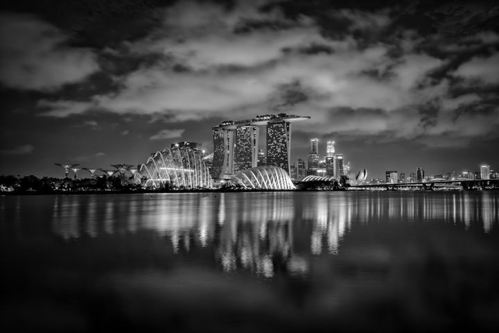 Photograph of Singapore Skyline 9