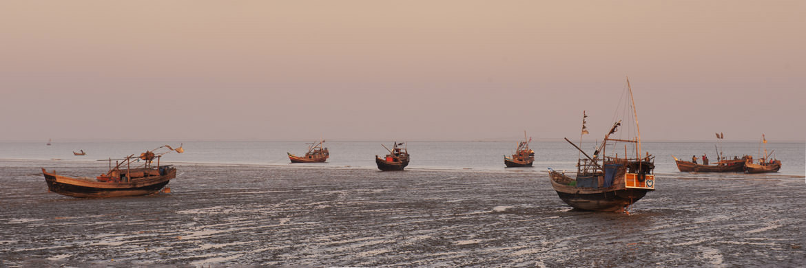 Photograph of Sittwe Harbour 1
