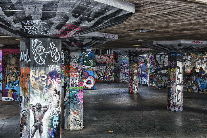 Photograph of South Bank Skate Park 2