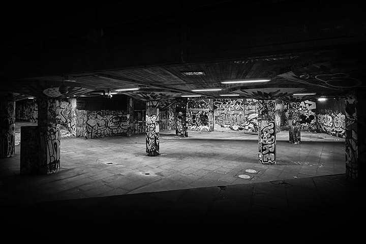 Photograph of South Bank Skate Park 3